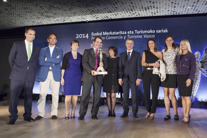 Premios comercio y Turismo 2014