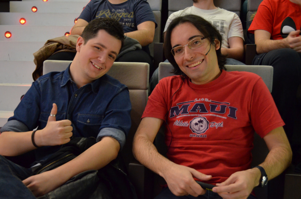 Jonathan Prat y Antonio Iglesias