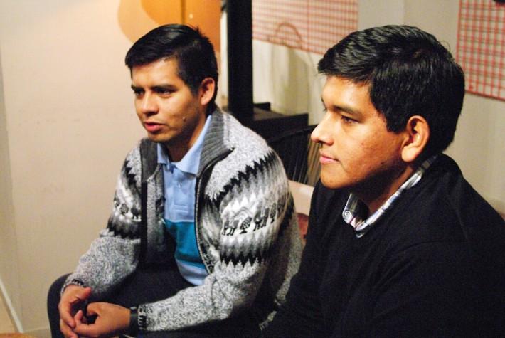 Ezequiel y Marcelo init Services