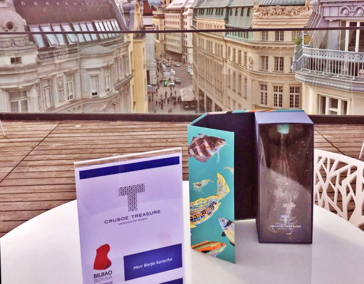 Bilbao Turismo presenta Crusoe Treasure en Viena
