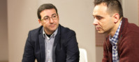 Javier Salas y Jordi Gómez