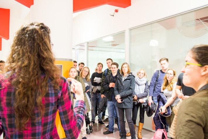 Karel de Grote University visita Grupo Init