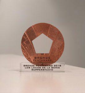 Los Locos de la Bahía, Premio Pentaward al diseño de packaging
