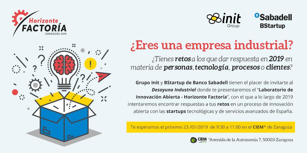 Laboratorio Innovación Abierta Industrial Horizonte Factoría