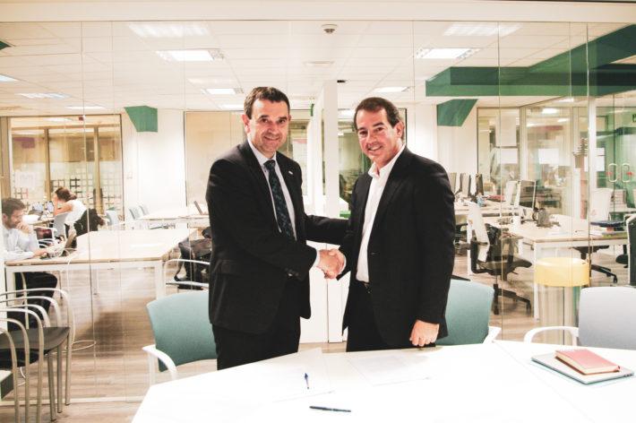 Nueva etapa en la colaboración entre Mondragon Unibertsitatea y Grupo Init en torno al proyecto Bilbao Berrikuntza Faktoria