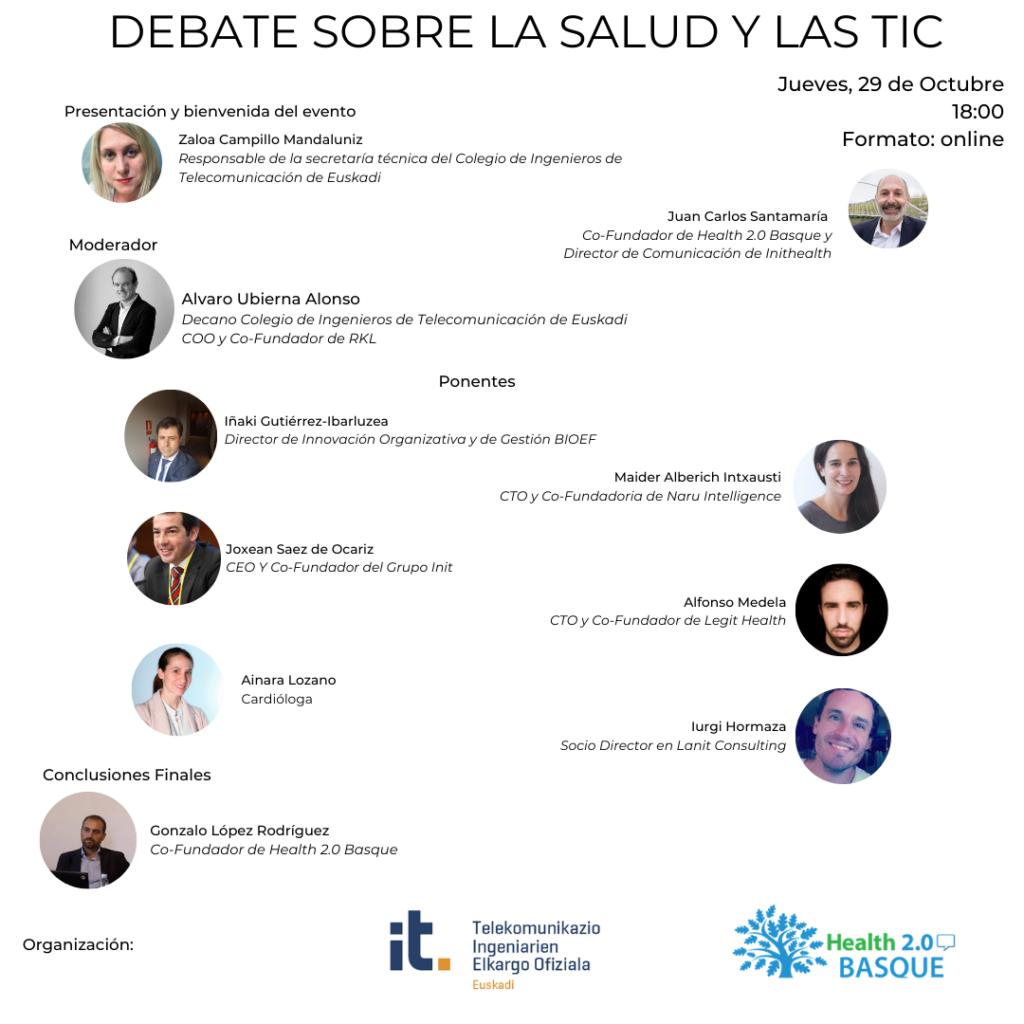 Debate sobre la salud y las TIC
